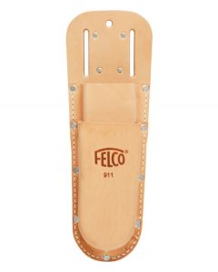 Felco 911 Double Leather Holster W-Belt loop & Clip