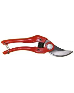Bahco 7-inch Bypass Pruner With Steel Handles, Wire Clasp Lock (P121-18-F)